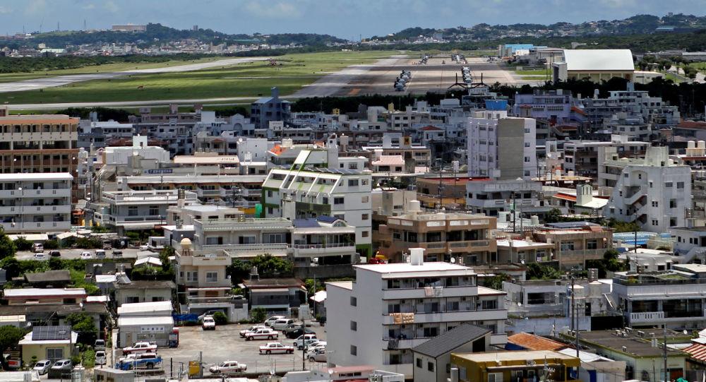 日本自卫队战机迫降冲绳美国空军基地