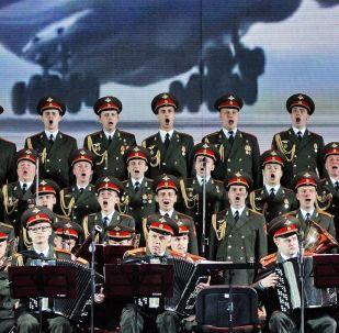 亞歷山德羅夫紅旗歌舞團在維捷布斯克