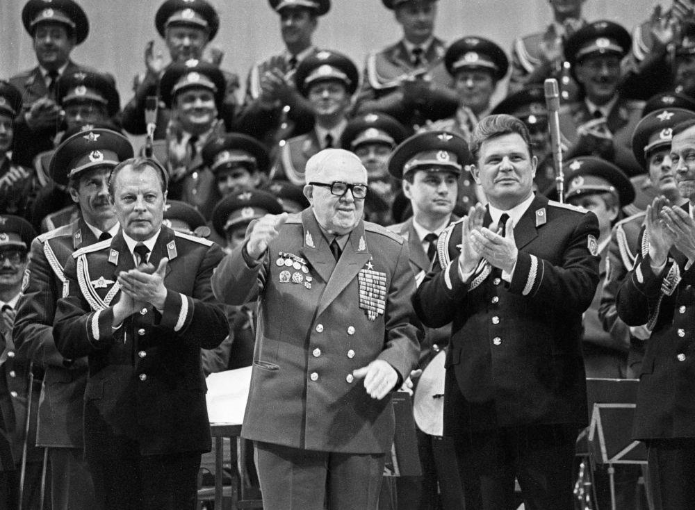 亚历山德罗夫苏军红旗歌舞团演出
