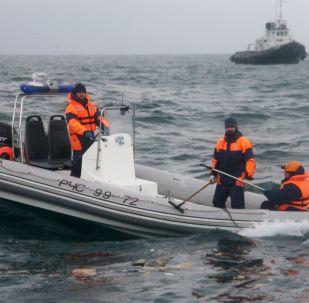 俄国防部:搜救组在黑海又找到三块图-154飞机残骸