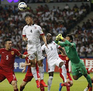 中国足球赛