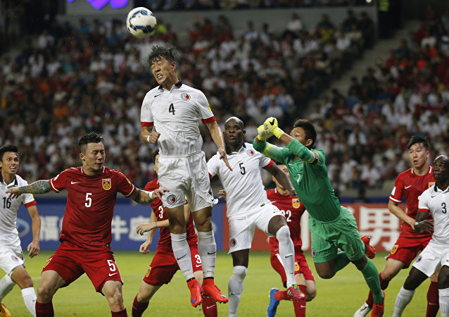 中國足球賽