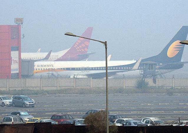 印度機場在新年假期期間加強安全措施