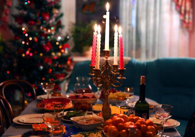 调查:四分之一的俄语网民拟网购年夜饭食材
