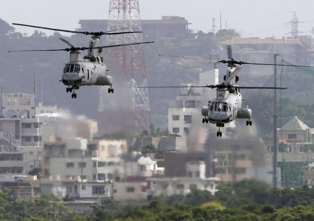 日本将恢复在冲绳北部修建美军机场工作