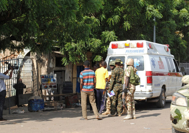 媒体:尼日利亚民众私刑处理了未能引爆自杀腰带的女恐怖分子