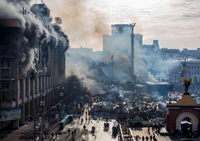 普京称在2014年乌克兰政变事件中美国公然欺骗俄罗斯
