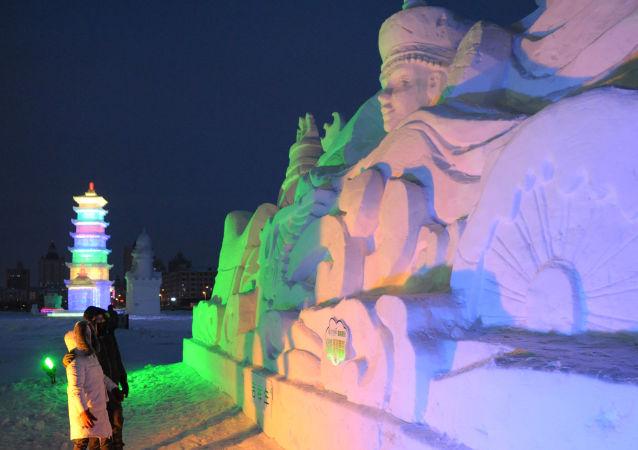 黑龙江漠河气温达零下49.7℃ 为50年来最低