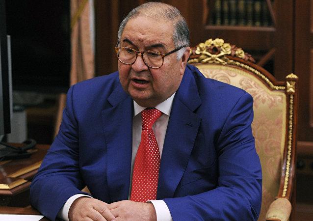 阿利舍尔·乌斯曼诺夫