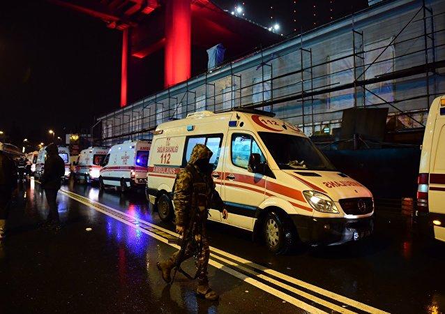 土内务部:伊斯坦布尔夜总会袭击致死人数增至39人69人受伤