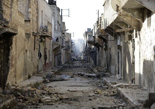 媒体:土俄两国空袭叙北IS阵地