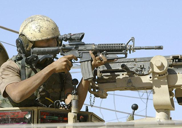 美国M16步枪