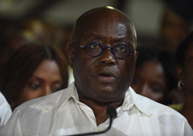 加纳新总统阿库福-阿多