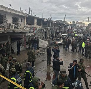 消息人士:敘利亞巴卜市附近發生劇烈爆炸 致超過15人死亡