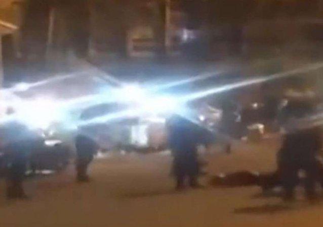 广东陆丰街头枪战6人受伤
