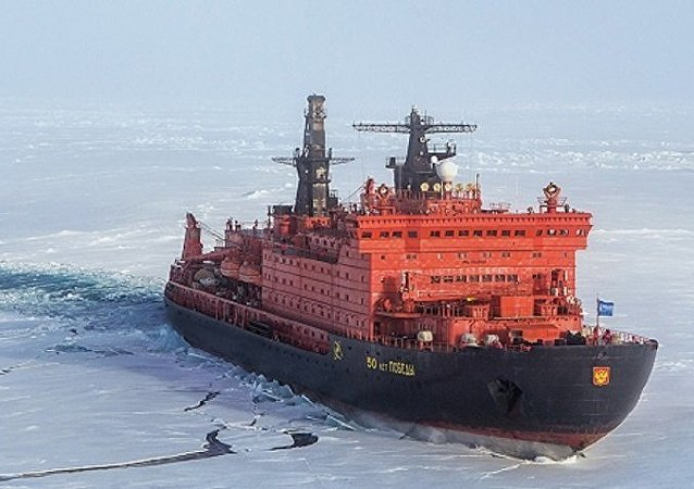「勝利50週年」號破冰船(資料圖片)