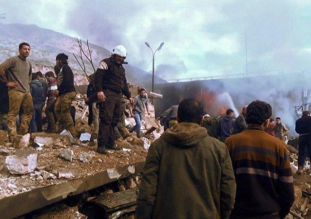 叙反对派武装安卡拉会谈上27个团体在最终文件上签字