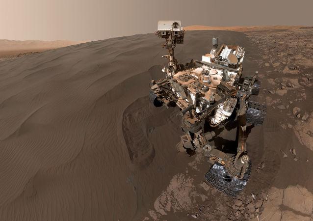 在火星上发现了外星人存在的新证据