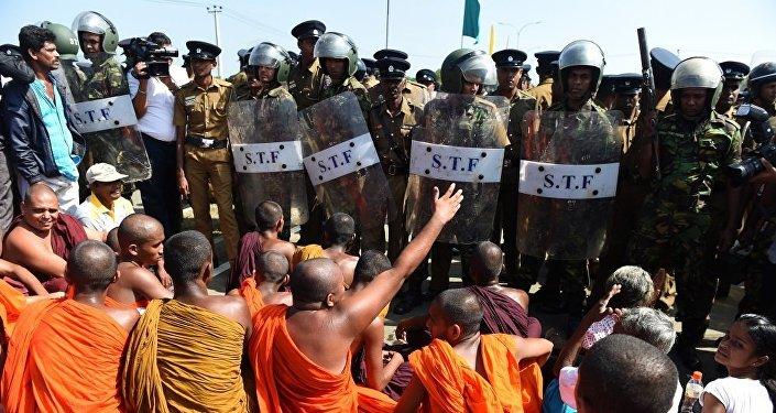 中國與斯里蘭卡關係再次受到檢驗