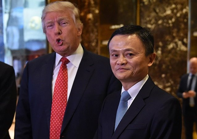 媒体:马云会见特朗普 讨论在美国创造100万企业