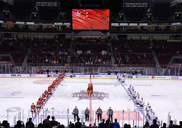 大陆冰球联盟将助中国队备战2022年冬奥会