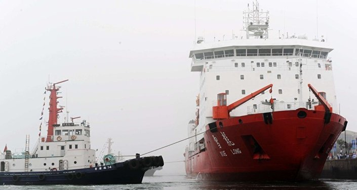 """中国海洋局:""""雪龙""""号存先天不足,需新破冰船"""