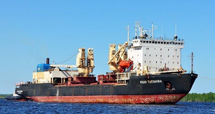 """10621型""""伊万·帕帕宁""""极地运输船"""