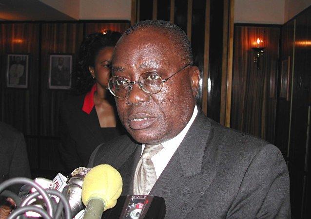 加纳总统纳纳·阿库福-阿多