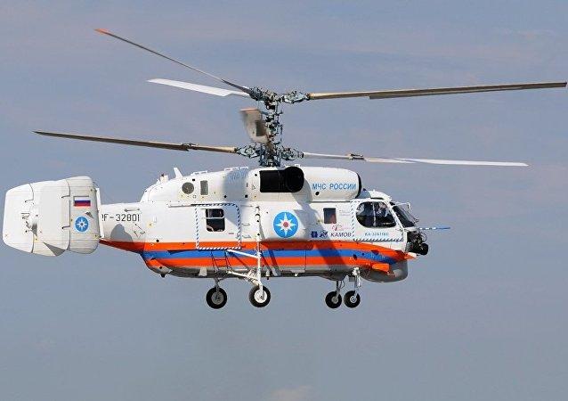 俄紧急情况部的卡-32A11BC直升机