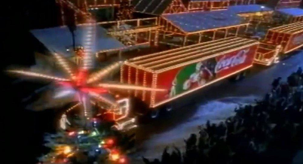 可口可乐圣诞卡车