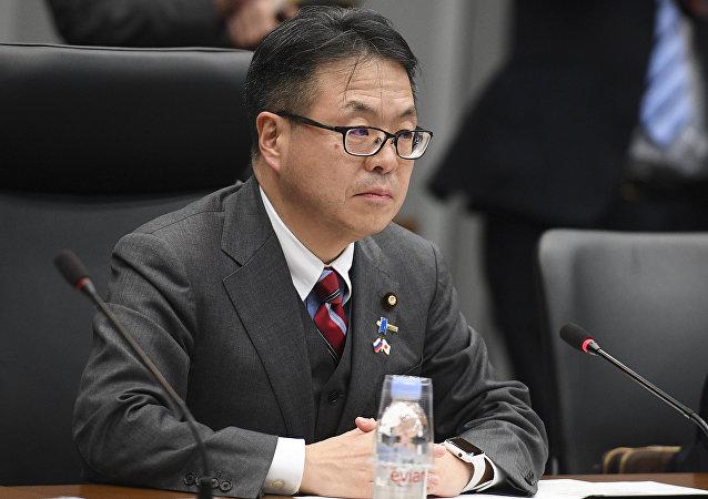 日本经济产业大臣确认日本在坚持履行日俄八点合作计划