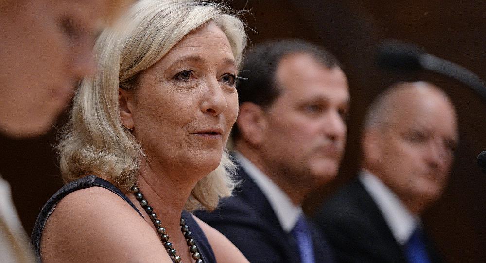 法国民调:勒庞民意领先菲永但恐难在总统选举第二轮投票中胜出