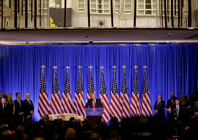 媒体:特朗普代表否认有关俄美两国领导人将在雷克雅未克会晤的消息