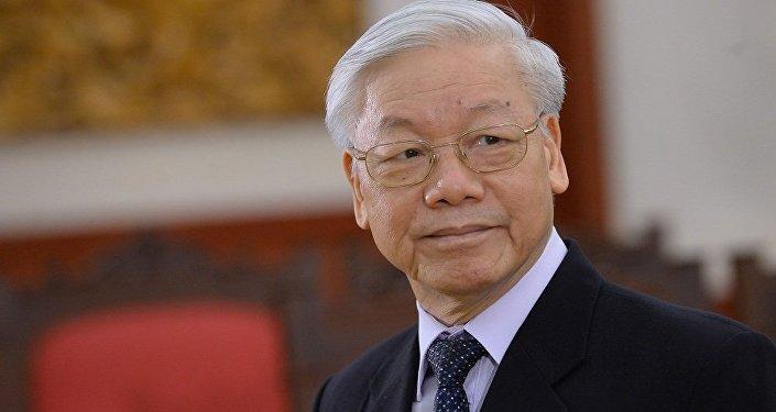 越南共產黨中央委員會總書記阮富仲