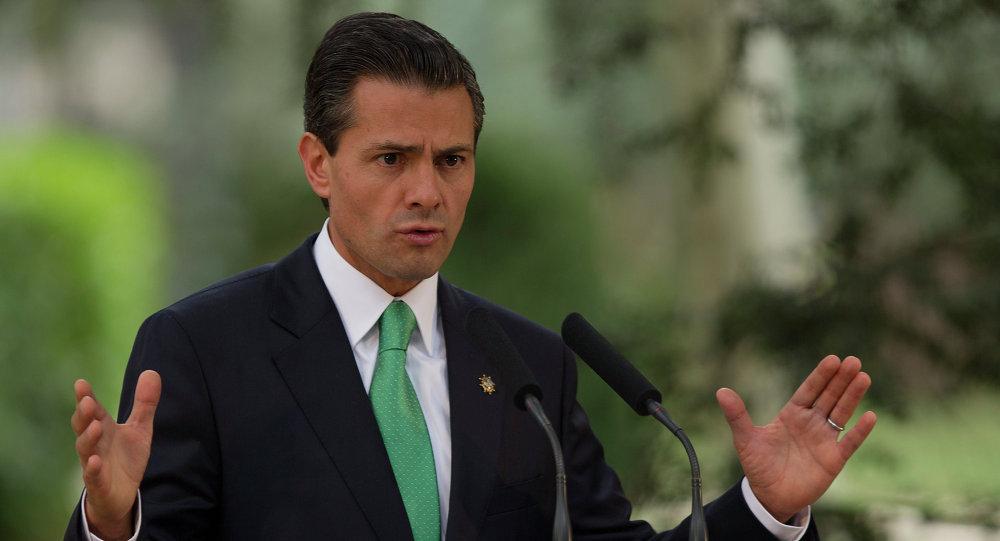 墨西哥总统称,他并不赞成美国总统关于修建隔离墙的决定