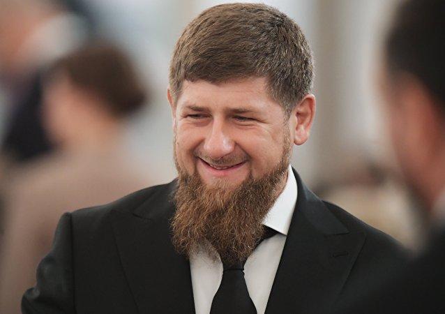 俄罗斯车臣共和国领导人拉姆赞∙卡德罗