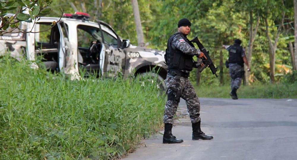 一名西班牙遊客成了里約熱內盧警方行動的受害者