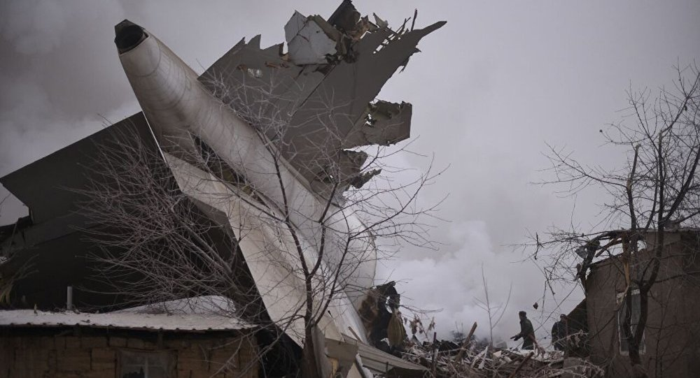 国家间航空委员会:比什凯克附近坠毁波音货机黑匣子数据已被读取 录音质量良好