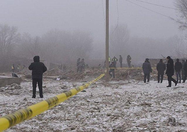 吉尔吉斯斯坦民航局:雾天不影响失事波音-747降落