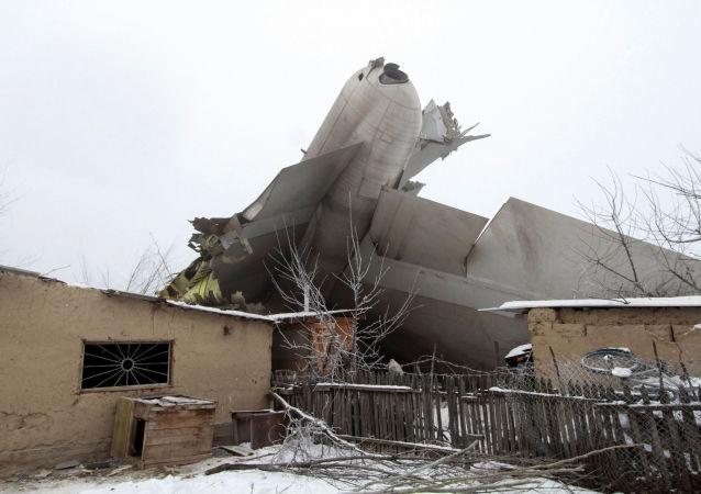 消息人士:比什凯克坠毁飞机黑匣子已找到 专家将对其进行研究