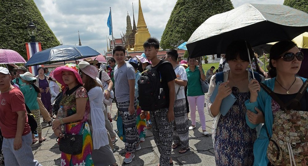 泰国将成为中国游客春节出游的最热门海外目的地
