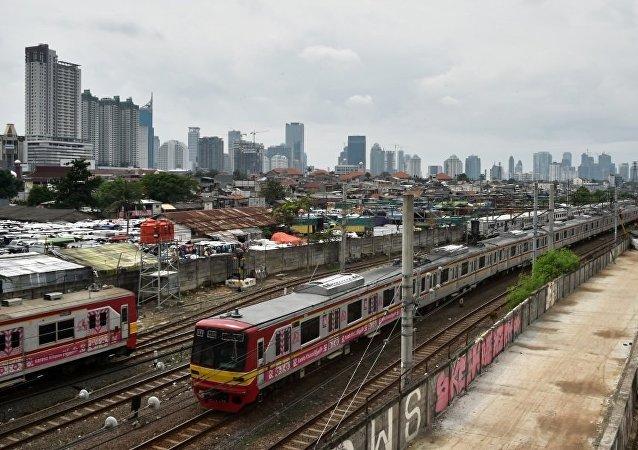 """中日""""铁路战""""在印尼再次爆发"""