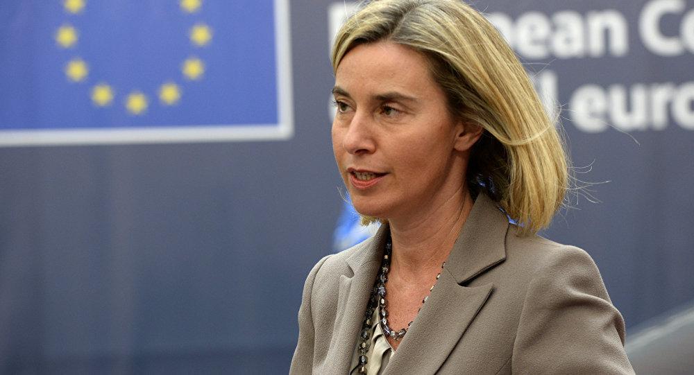 欧盟外交与安全政策高级代表莫盖里尼