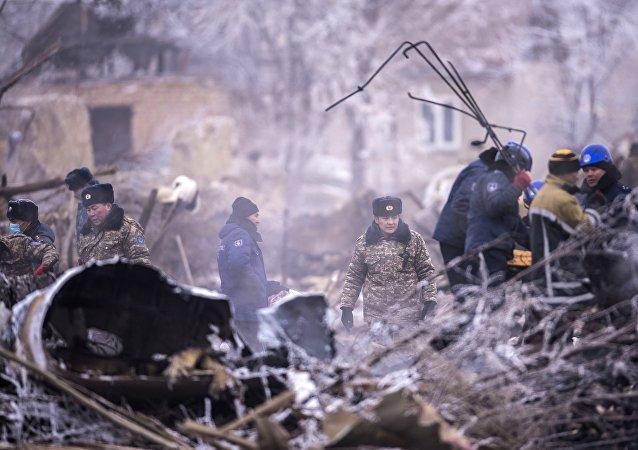 土航货机遇难机组人员遗体转交给土驻吉大使馆以运送回国