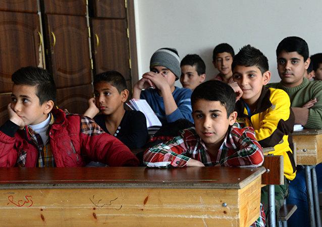 联合国儿童基金会:约50万叙利亚儿童在土耳其学校上学