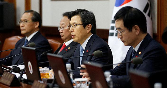 韩国代总统黄教安