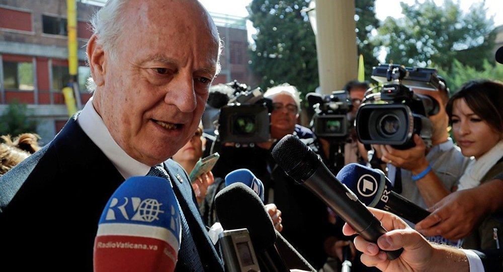 联合国特使:日内瓦会谈将讨论叙宪法和联合国主持的选举问题