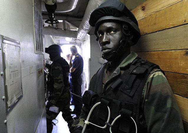 塞内加尔海军陆战队