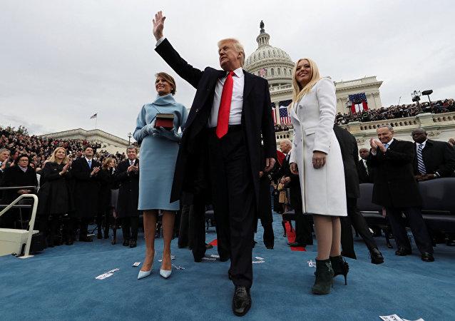 Инаугурация избранного президента США Дональда Трампа в Вашингтоне