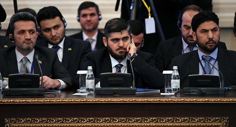 消息人士:叙武装反对派5月4日将继续参加阿斯塔纳和谈